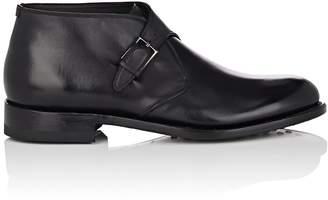 Salvatore Ferragamo Men's Cosimo Leather Chukka Boots
