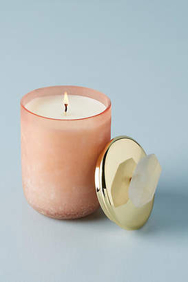 Anthropologie Crystal Moon Candle