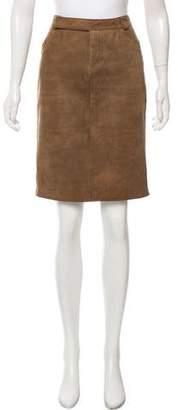 Proenza Schouler Leather Pencil Skirt