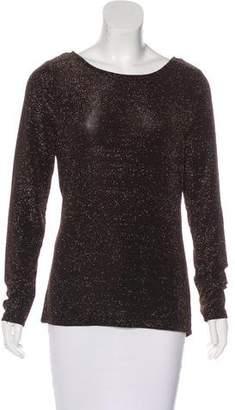MICHAEL Michael Kors Metallic Knit Top