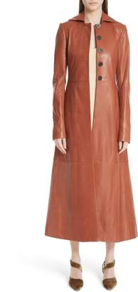 Rosetta Getty Leather Coat