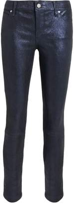 RtA Barracuda Prince Leather Navy Pants