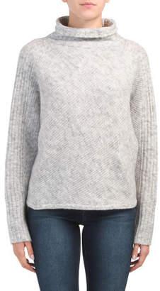 Long Sleeve Turtleneck Chunky Sweater