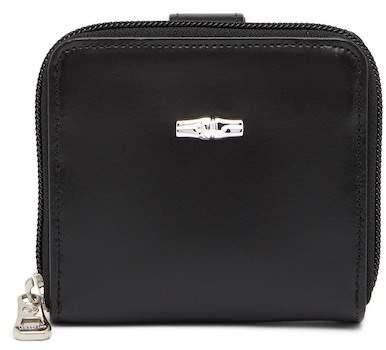 LONGCHAMP Roseau Small Leather Wallet