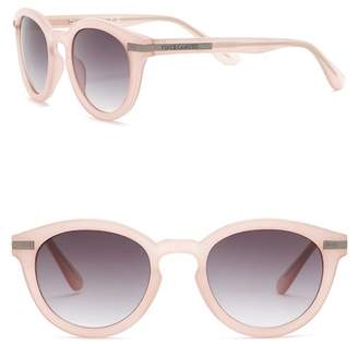 Vince Camuto Women's Round 49mm Acetate Frame Sunglasses