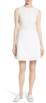 Women's Ted Baker London Olara Daisy Lace Shift Dress $365 thestylecure.com