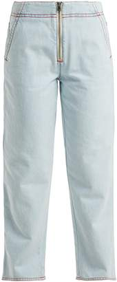 Marni Exposed zip jeans