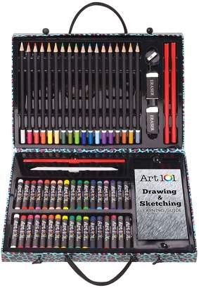Art 101 61-pc. Expressions Drawing Art Set
