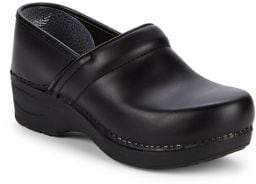 Dansko Leather Platform Loafers