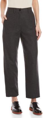 Hache Wool Charcoal Pants