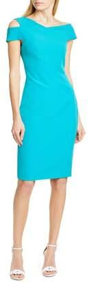 Ted Baker Yandal Shoulder Cutout Bodycon Dress