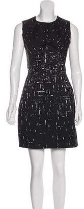 Narciso Rodriguez Brush Stroke Mini Dress w/ Tags