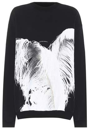 Maison Margiela Printed cotton sweatshirt