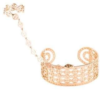 Arme De L'Amour Rhomboid Ring & Bracelet
