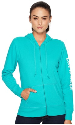 Life is Good - Life is Good Go-To Zip Hoodie Women's Sweatshirt $54 thestylecure.com