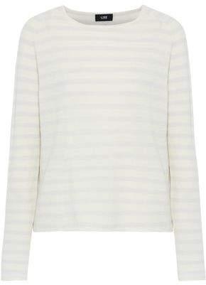 Line Intarsia Cashmere Sweater