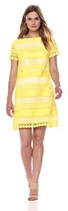 Tahari by Arthur S. Levine Women's SS Chemical Lace Dress
