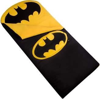 Justice Wildkin Batman Emblem Sleeping Bag