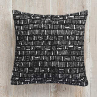 City Crosshatch Self-Launch Square Pillows