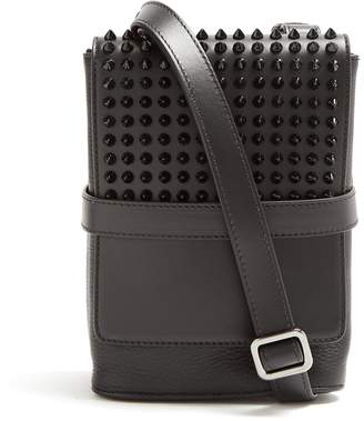 Christian Louboutin Benech small spike-embellished cross-body bag