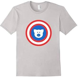 Captain Pig Funny Pig Lover Whisperer T Shirt Gift