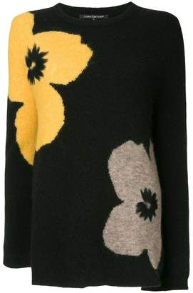 Luisa Cerano floral knitted sweater