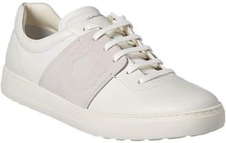 Salvatore Ferragamo Cult Leather Sneaker
