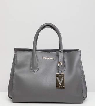 Mario Valentino Valentino By Valentino by Grey Structured Tote Bag