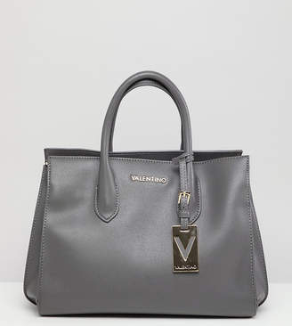 Mario Valentino Valentino by Gray Structured Tote Bag
