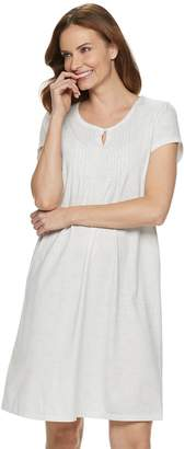 Croft & Barrow Petite Pintuck Nightgown