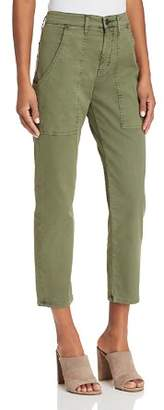 Hudson Leverage High Rise Cargo Pants in Forester