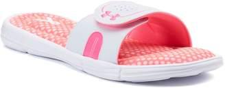b3f12734bfac Under Armour Ignite Power In Pink VIII Women s Slide Sandals