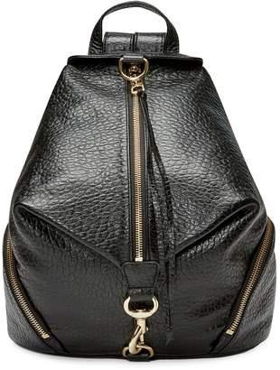 Rebecca Minkoff Julian Textured Leather Backpack