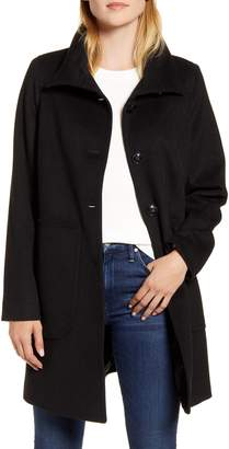 Kristen Blake Studio Collection Wool Blend Walking Coat