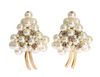 Dolce & Gabbana White Metal Earrings