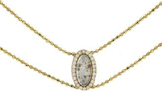 Darśana Sophie Collar Necklace - Yellow Gold
