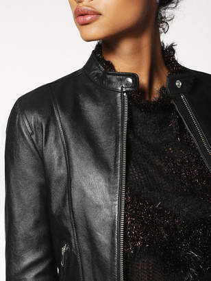 Diesel Leather jackets 0CAPI - Black - L