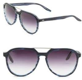 Barton Perreira Bulger 59MM Gradient Aviator Sunglasses