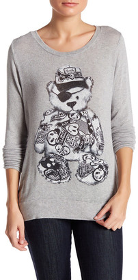 Lauren Moshi Long Sleeve Graphic Pullover Shirt $145 thestylecure.com