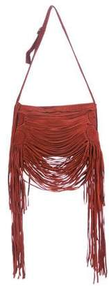 Jean Paul Gaultier Suede Fringe Shoulder Bag