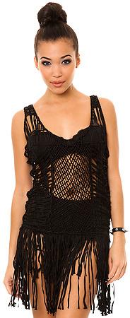 UNIF The Birkin Crochet Mini Dress