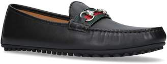 Gucci Kanye Leather Driving Shoes