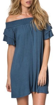 Women's O'Neill Augustina Off The Shoulder Dress $54 thestylecure.com