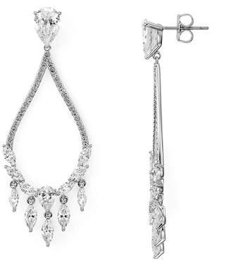 Nadri Small Drop Chandelier Earrings