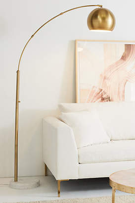 Anthropologie Actoria Arc Floor Lamp