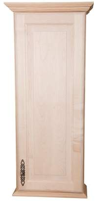 """WG Wood Products Atlanta Series 15.5"""" W x 31.5"""" H Wall Mounted Cabinet"""