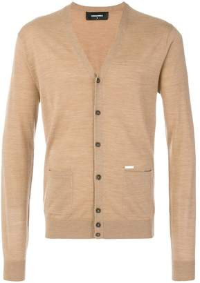 DSQUARED2 button front cardigan
