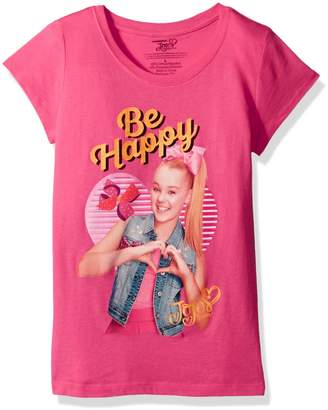 Nickelodeon Big Girls' Jo Siwabe Happy Short Sleeve T-Shirt