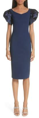 Chiara Boni Eunice Jersey Sheath Dress