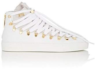 Swear London Women's Redchurch Suede & Leather Sneakers - White
